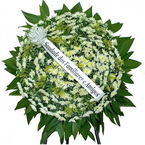 3471 Coroa Tradicional Circular Branca.