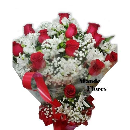 4909 Rosas Vermelhas Com Muito Amor.