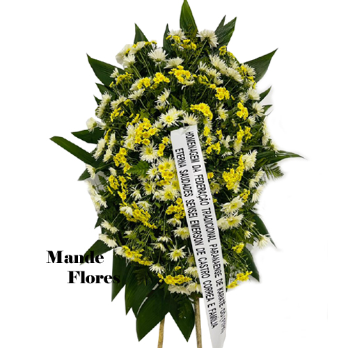4917 Coroa Fúnebre Tradicional
