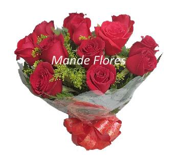 5044 Buquê Rosas vermelhas