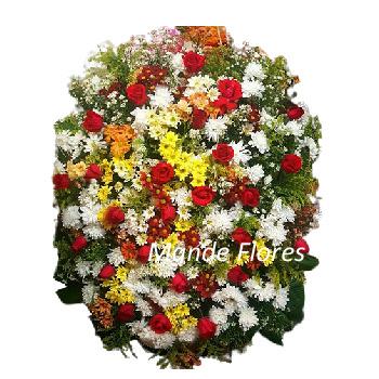 5052 Coroa De Flores Fúnebre