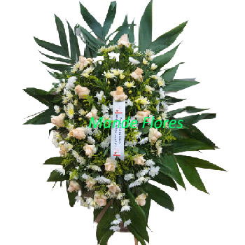 5063 Coroa De Flores Fúnebre