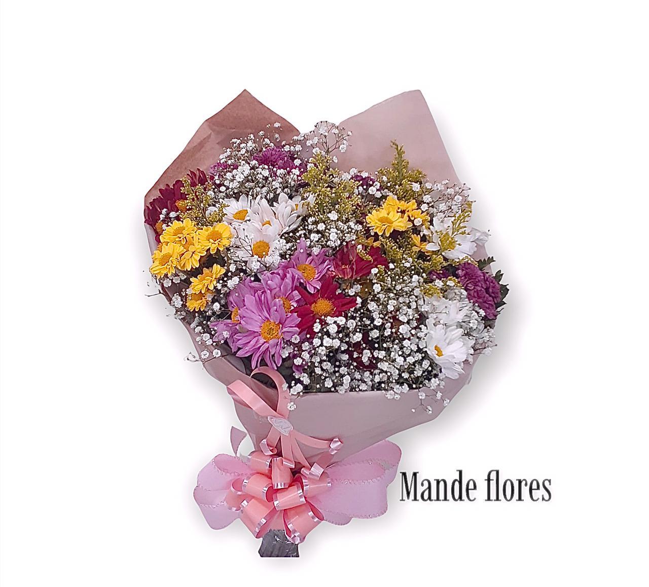 5558 Buque De Flores Do Campo Colorido
